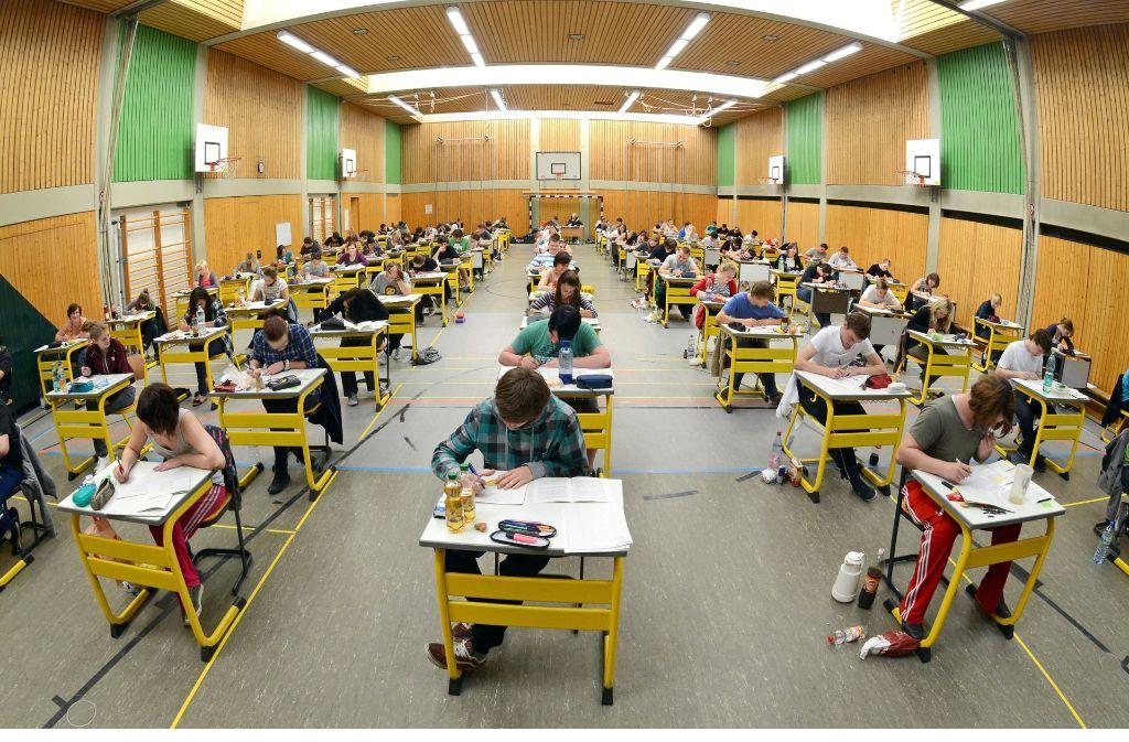In Baden-Württemberg stehen derzeit die Abiturprüfungen an. Foto: dpa