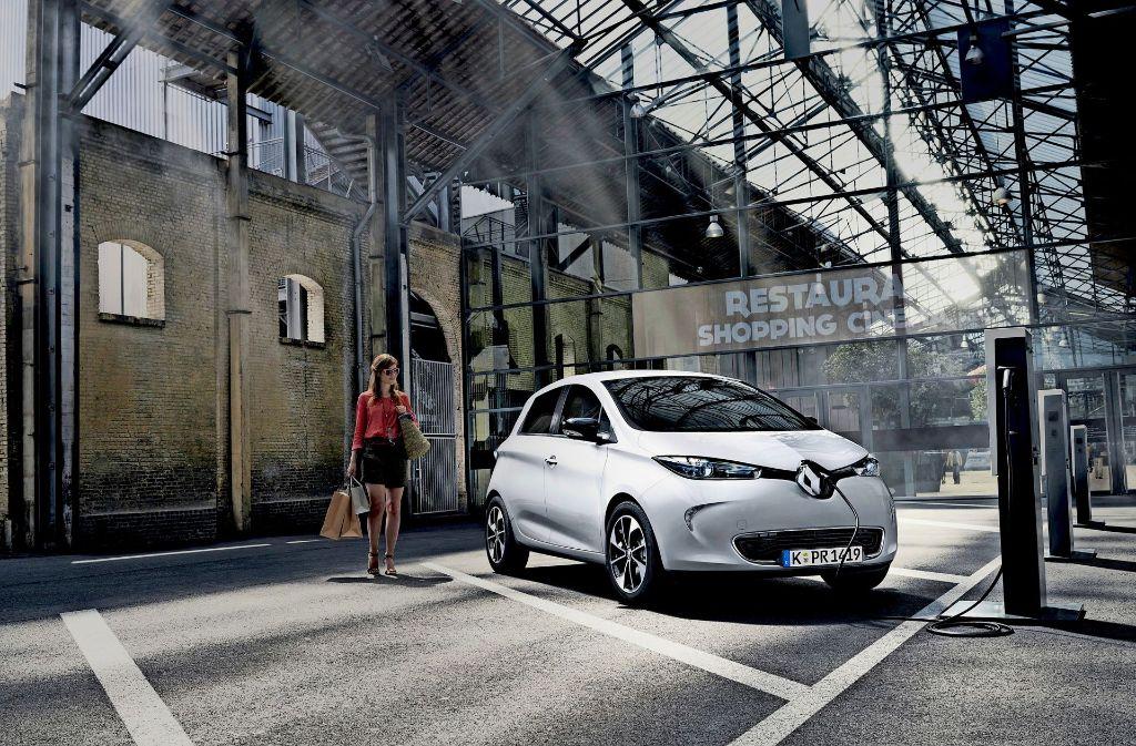 Der Renault Zoe führt bei der Kaufprämie die Rangliste der Modelle an. Foto: Renault