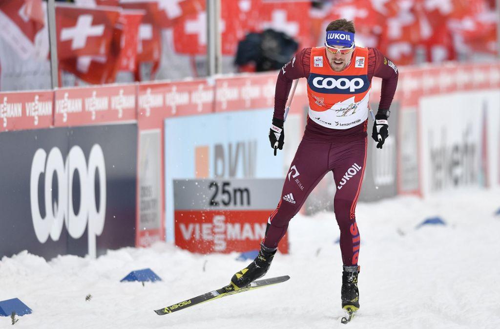 Der zweimalige Weltmeister Sergej Ustjugow durfte 2018 wegen Dopingvorwürfen nicht an den Olympischen Spielen teilnehmen. Foto: dpa