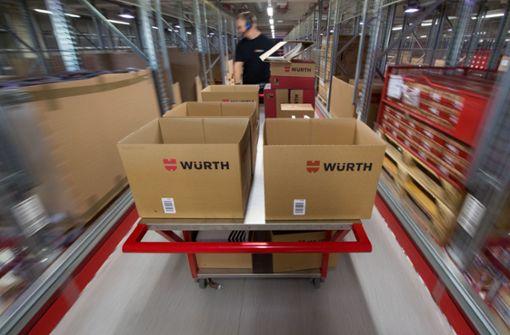 Höheres Tarifgehalt  für Würth-Beschäftigte
