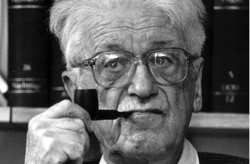 Theodor Eschenburg (1904 – 1999) Foto: dpa