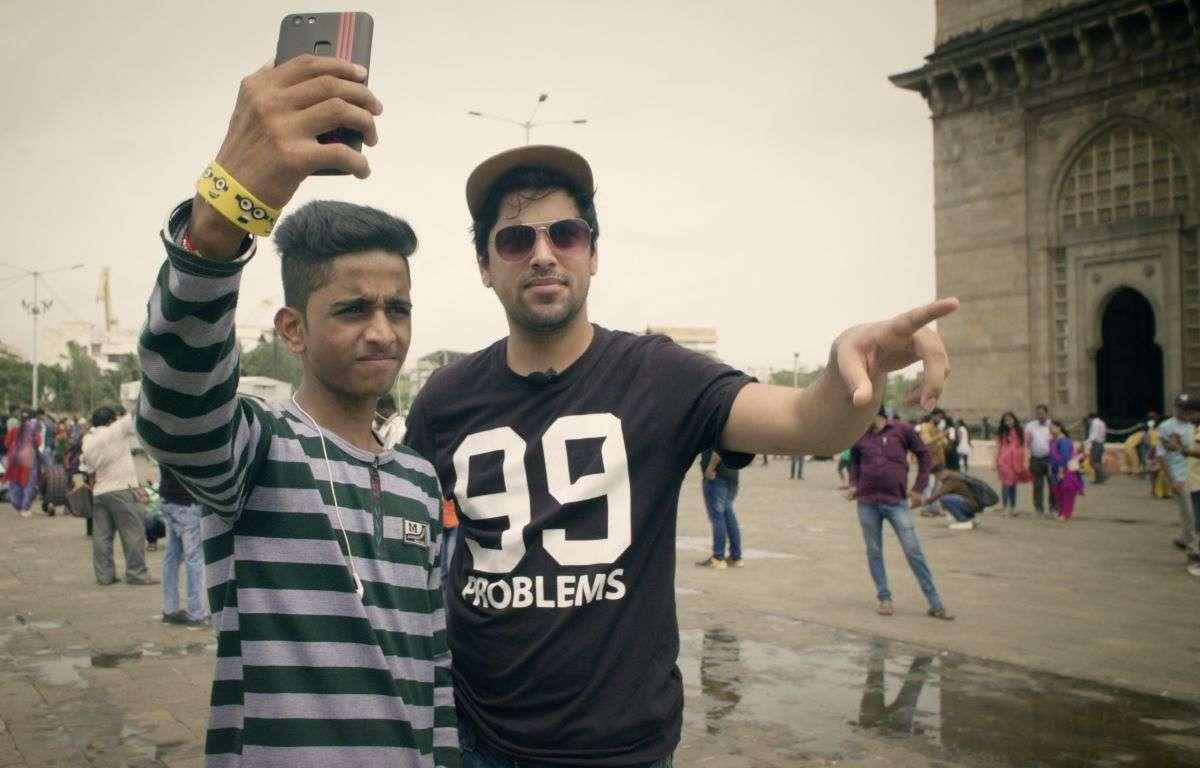 Berlin To Bombay wurde von zwei Filmaka-Studenten gedreht (rechts im Bild: Daniel Popat). Foto: Indisches Filmfestival