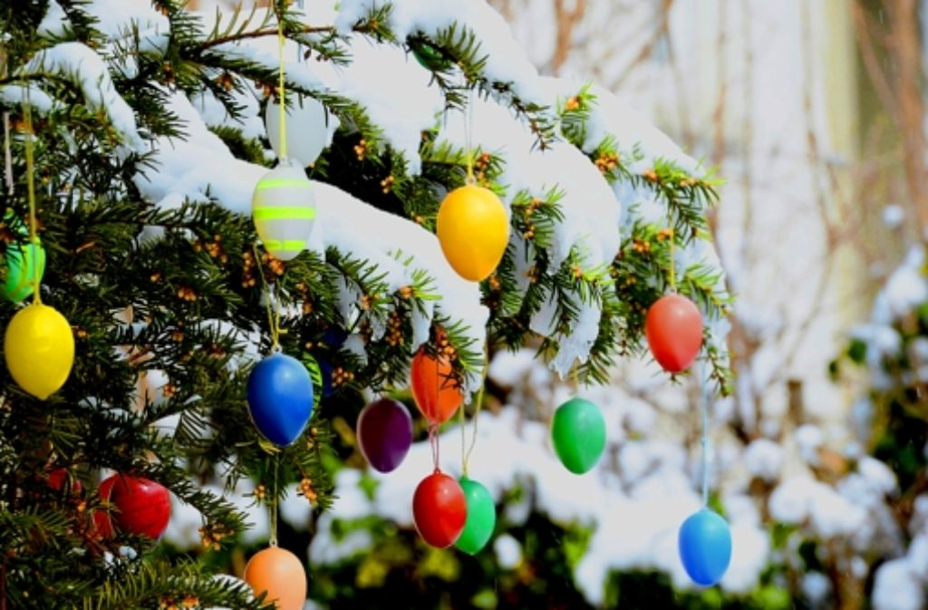 Wenn Weihnachten und Ostern zusammenfallen, dann ist 2013. Foto: dpa