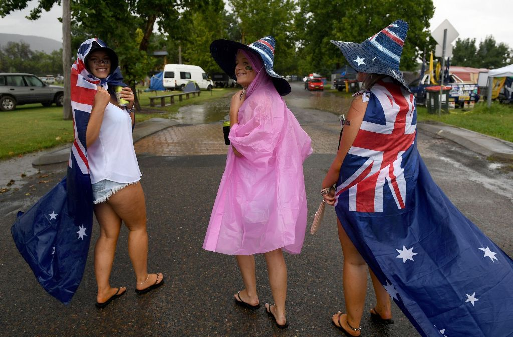 Viele Australier feiern den Australia Day ausgelassen. Es gibt aber auch Gegner des Nationalfeiertags. Foto: Rex Features