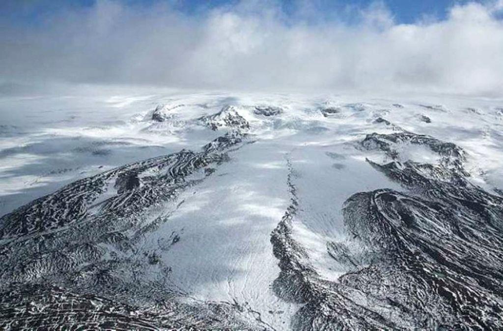 Der isländische Vulkan Katla bereitet sich möglicherweise auf einen Ausbruch vor. (Symbolbild) Foto: dpa/Flickr