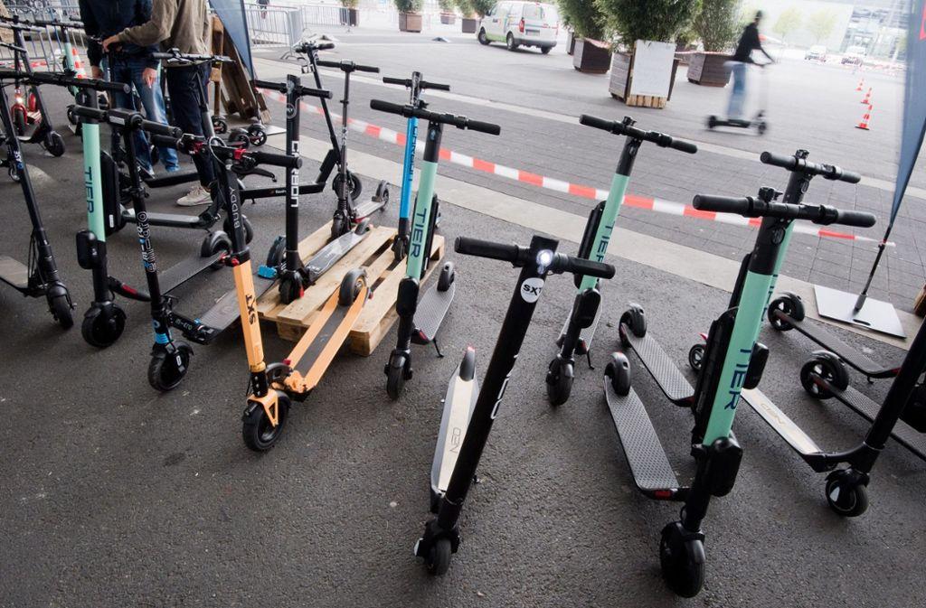Jeder Vierte plant die Anschaffung eines E-Rollers. (Symbolfoto) Foto: dpa