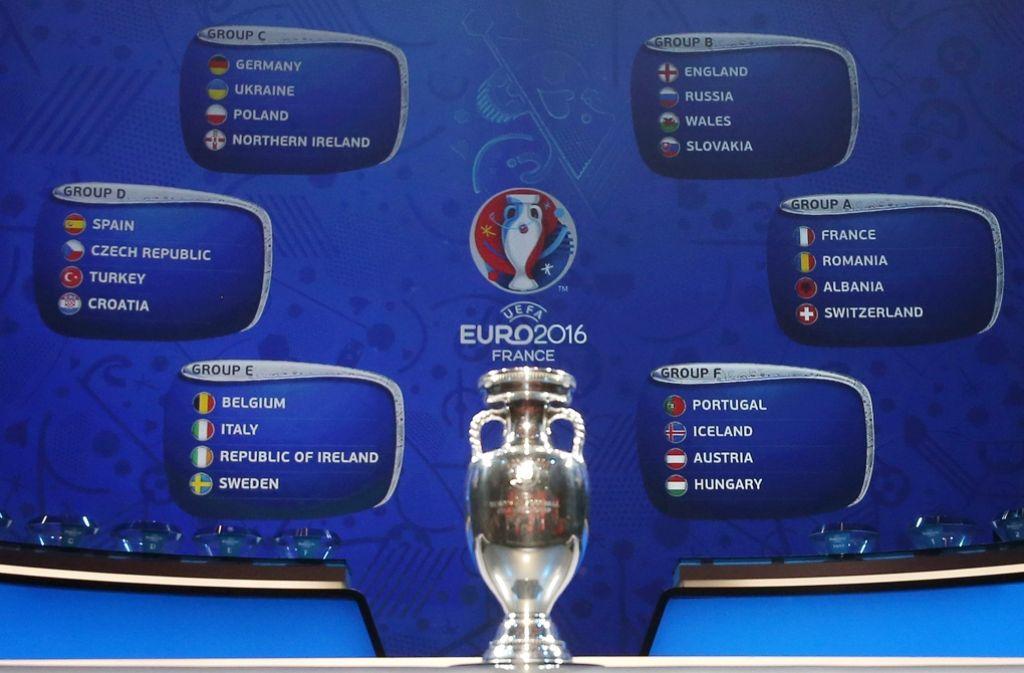Fußball-EM 2016: 24 Teams kämpfen vom 10. Juni an um die Fußball-Krone Europas. Foto: dpa