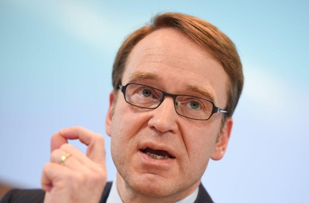 Bundesbankpräsident Jens Weidmann warnt ständig vor den Risiken der Niedrigzinspolitik. Foto: dpa
