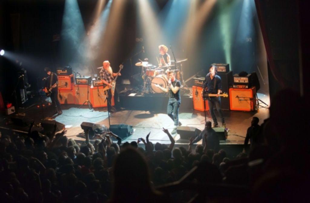 Die Eagles of Death Metal haben alle weiteren Konzerte abgesagt Foto: AFP