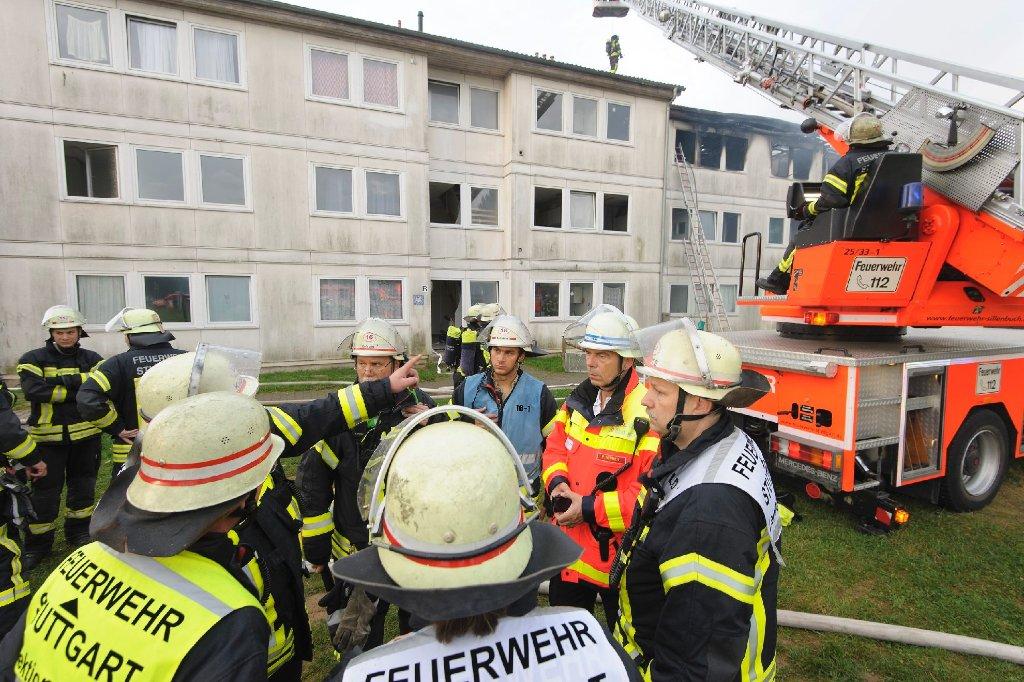 Hinweise für Brandstiftung oder einen politischen Hintergrund gab es laut Polizei zunächst keine. Foto: www.7aktuell.de/Eyb