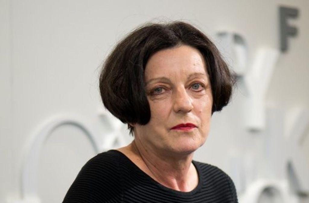 Herta Müller ist 2009 mit dem Literaturnobelpreis ausgezeichnet worden. Foto: dpa-Zentralbild