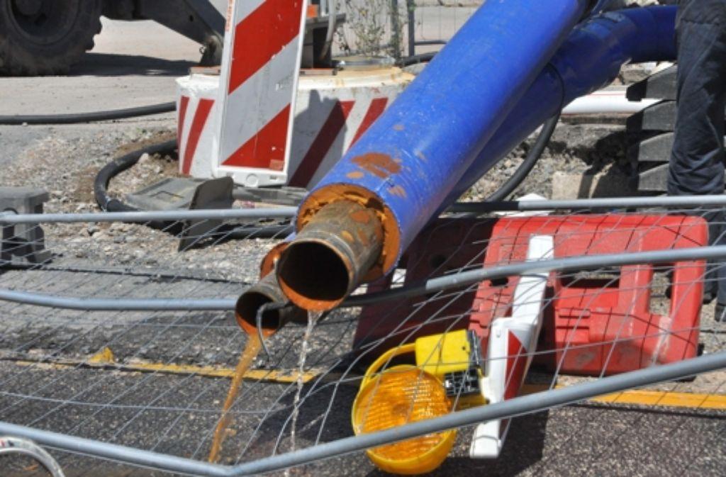 Den S-21-Gegner bereitet Rost im Grundwassermanagement Sorgen. Foto: dpa