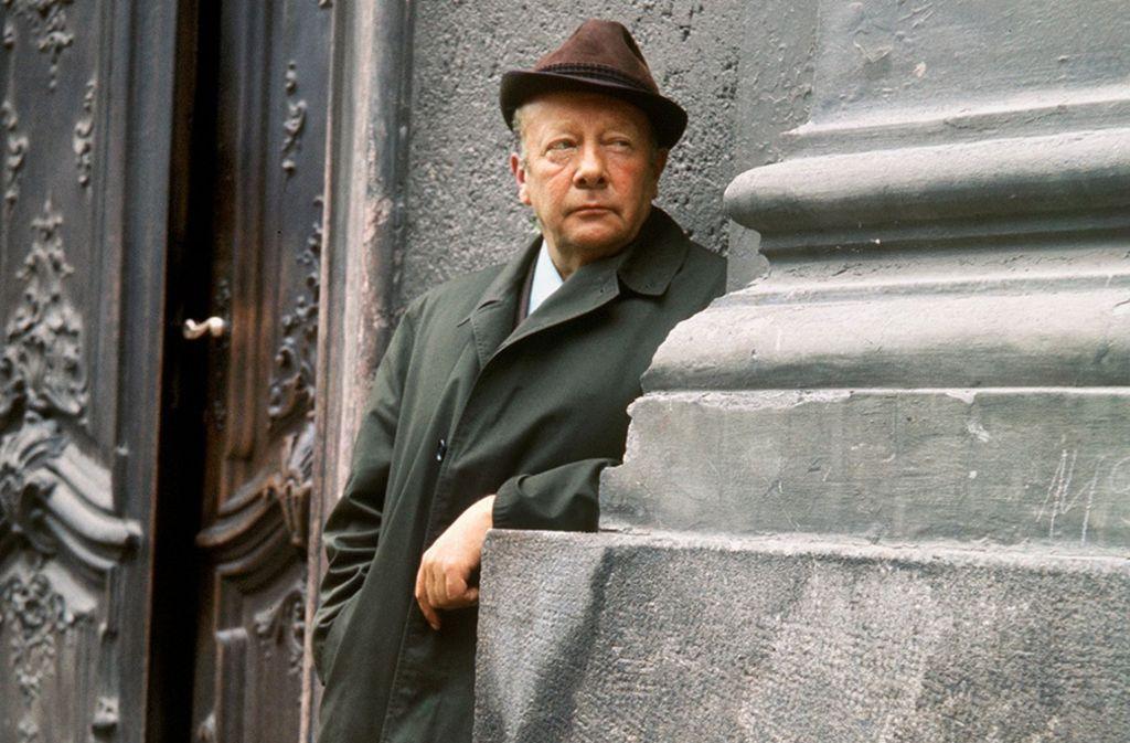 Auf der Mauer, auf der Lauer: Kommissar Keller (Erik Ode) Foto: dpa
