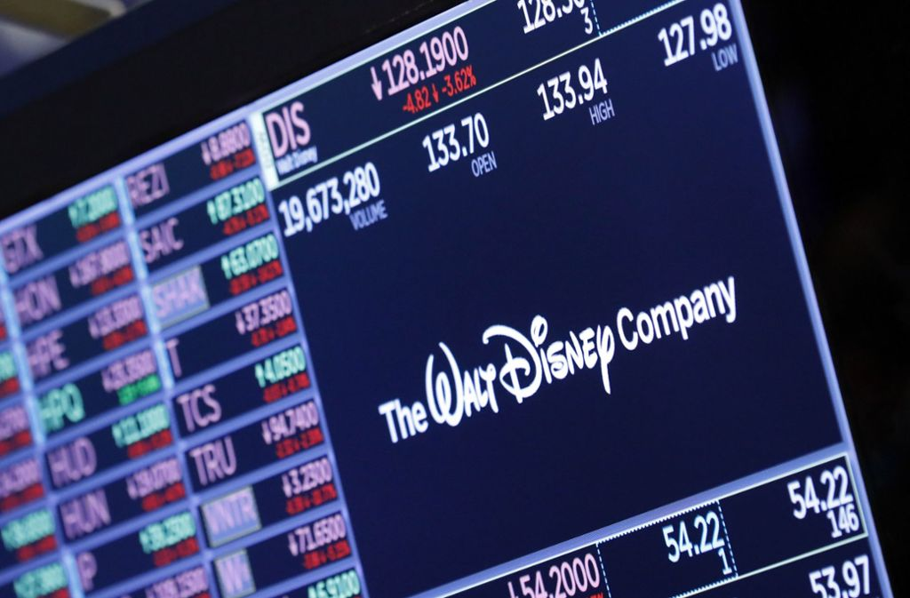 Überraschung auf dem Unterhaltungsmarkt: Machtwechsel bei Disney Foto: dpa/Richard Drew