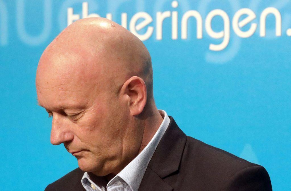 Thomas Kemmerich (FDP) hatte sich mit Stimmen der FDP zum thüringischen Ministerpräsidenten wählen lassen. Inzwischen hat er seinen Rücktritt erklärt. Foto: dpa/Bodo Schackow