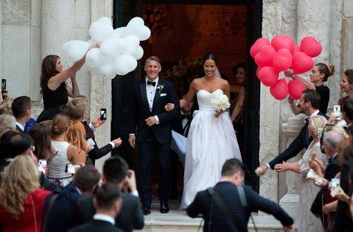 Schweinsteiger und Ivanovic heiraten kirchlich