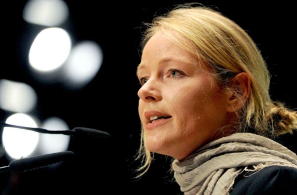 Die Landesvorsitzende der Grünen, Thekla Walker, kandidiert nicht mehr für die Kommunalwahlen im Mai. Foto: dpa