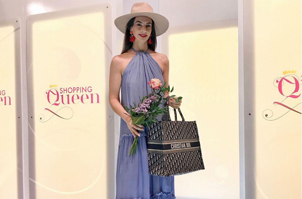 Das Final-Outfit ist es zwar nicht, aber die Stuttgarter Kandidatin Laetitia Kutob beweist auch so Stil. Foto: privat