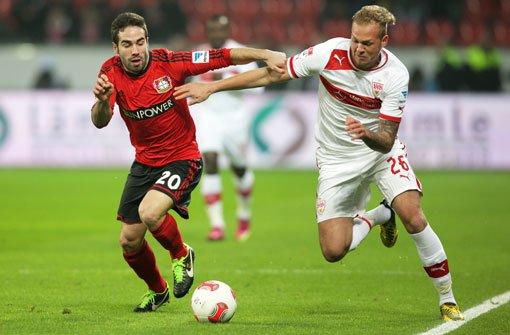 VfB unterliegt in Leverkusen