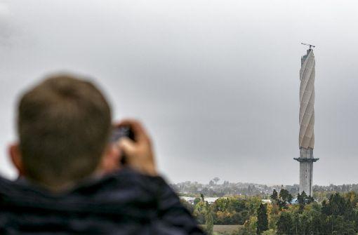 Deutschlands höchste Aussichtsplattform gefeiert