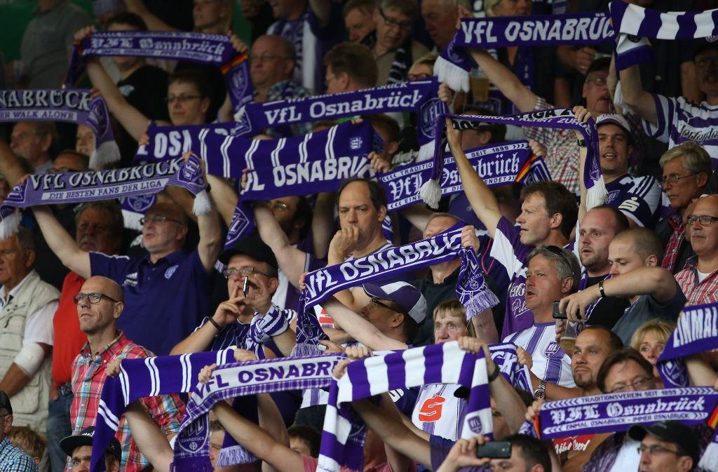 Der DFB ermittelt gegen den VfL Osnabrück. Foto: dpa