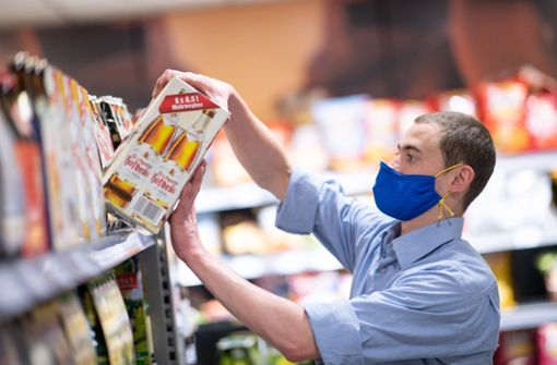 Starke Hygiene-Gegensätze in Stuttgarts Supermärkten