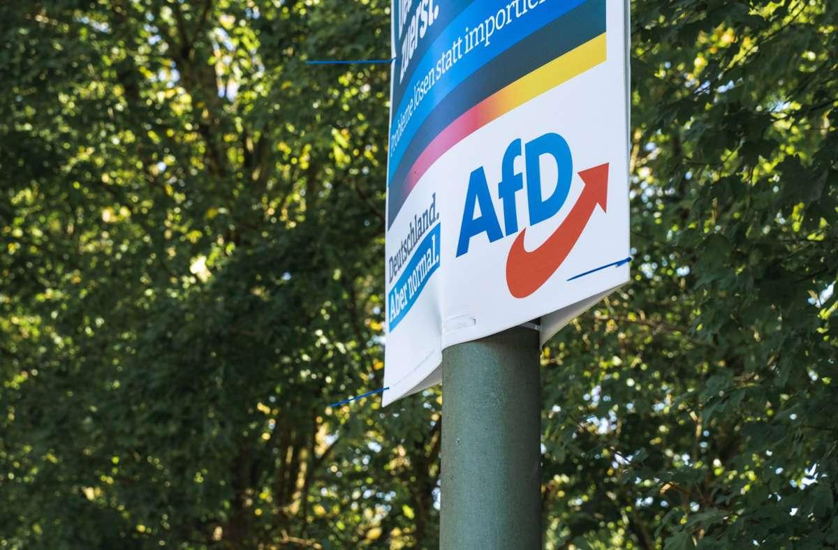 Das Amtsgericht Heilbronn befasst sich mit einem Erpressungsfall bei der AfD. Foto: imago images/Bihlmayerfotografie/Michael Bihlmayer