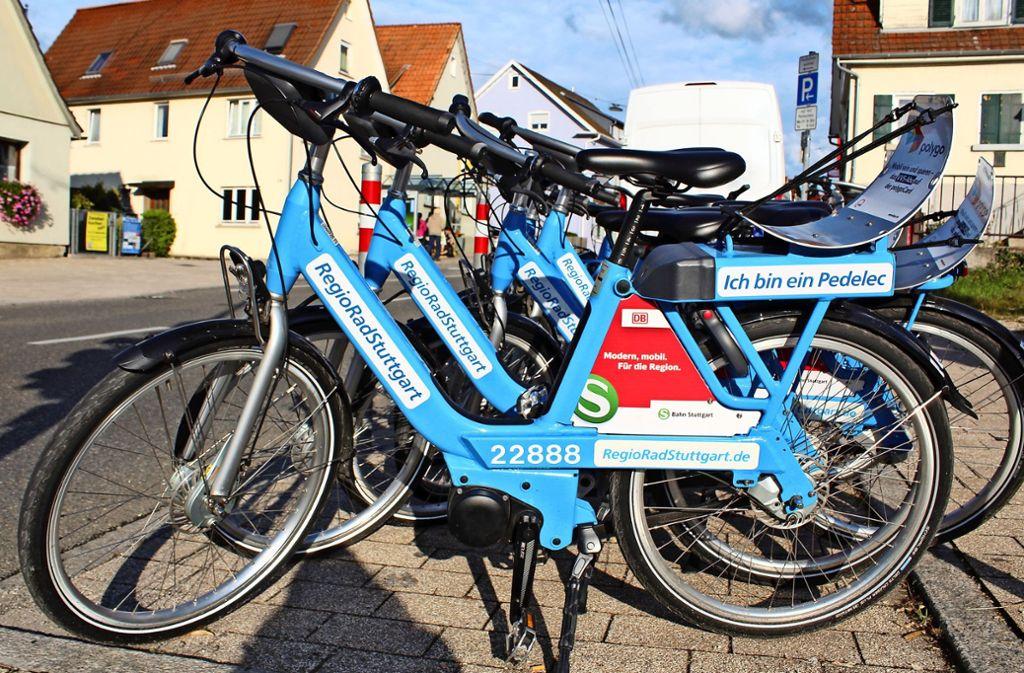 Pedelecs kosten von der ersten Minute an, während Fahrräder für bestimmte Kunden 30 Minuten kostenlos sind. Foto: Jacqueline Fritsch