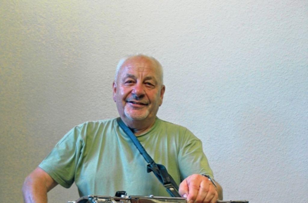Klaus Krautter Foto: Susanne Müller-Baji