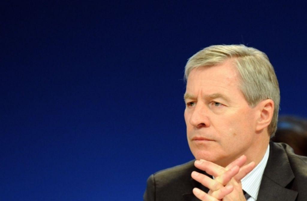 Jürgen Fitschen, der Co-Chef der Deutschen Bank, steht in der Kritik. Foto: dpa