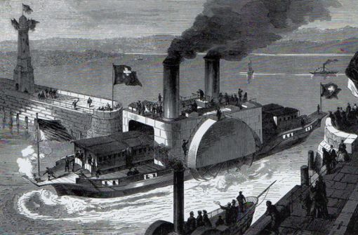 Die schwimmende Eisenbahn