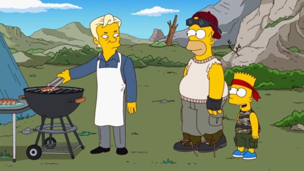 Laut einem Geschichtsforscher tragen Homer und seine Familie zur Gleichstellung von Schwulen bei. Foto: Fox