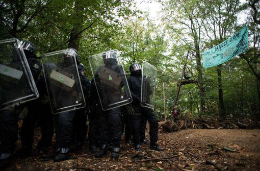 Grüne kritisieren Räumung der Baumhäuser von Umweltaktivisten