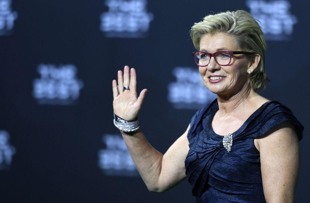 Siliva Neid ist erneut zur Welttrainerin gewählt worden. Foto: KEYSTONE