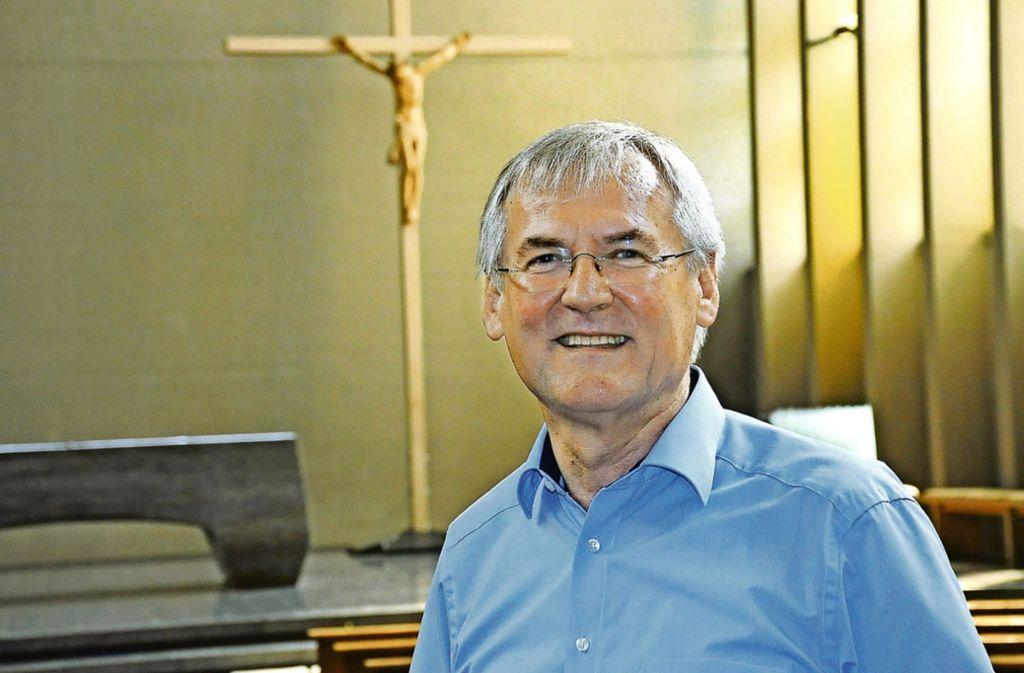 Pater Konrad Werder zieht weiter nach Bad Wurzach. Foto: Georg Linsenmann