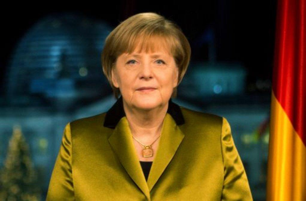 Man sollte sie nicht unterschätzen: Angela Merkel hat sich mit Machtbewusstsein und eisernem Willen an die Spitze gekämpft. Jetzt wird die Kanzlerin 60. Ein Blick zurück. Foto: dpa