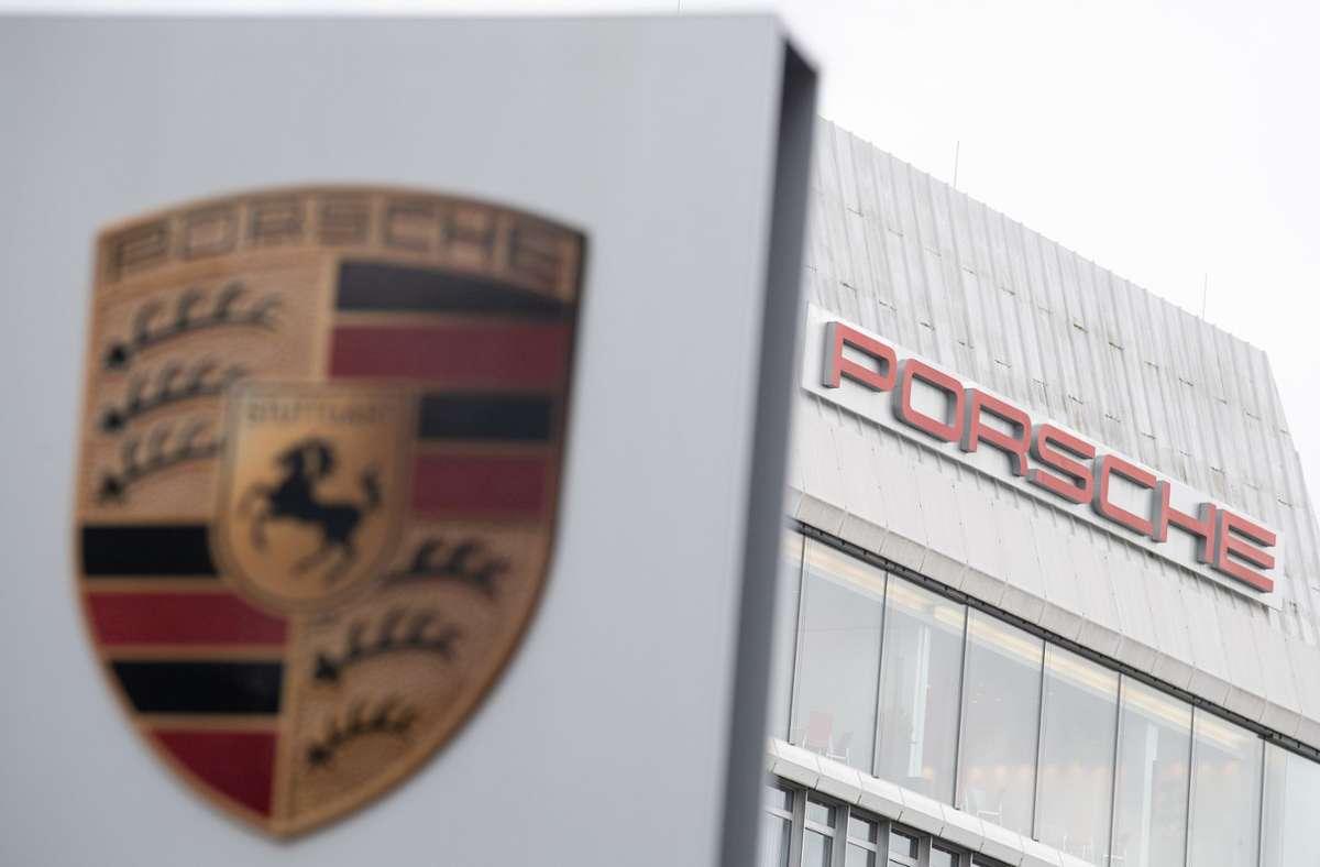 Porsche hat 2020 leicht beim Umsatz zugelegt. Foto: dpa/Sebastian Gollnow