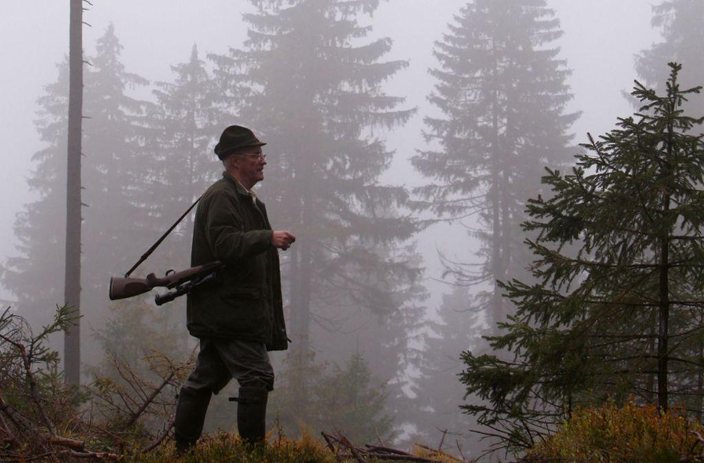 Jäger sind verärgert über die geplante Novelle. Foto: dpa/Karl-Josef Hildenbrand