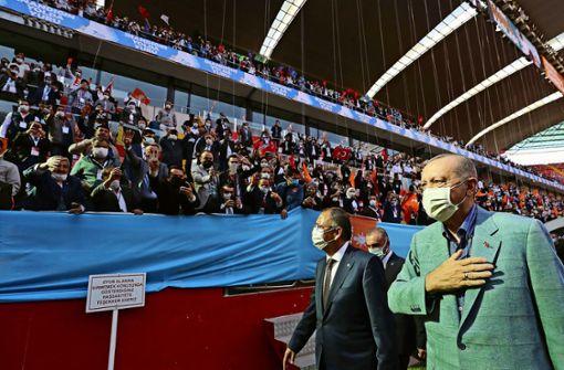 "Erdogan setzt Tiraden über ""Geisteszustand"" Macrons fort"