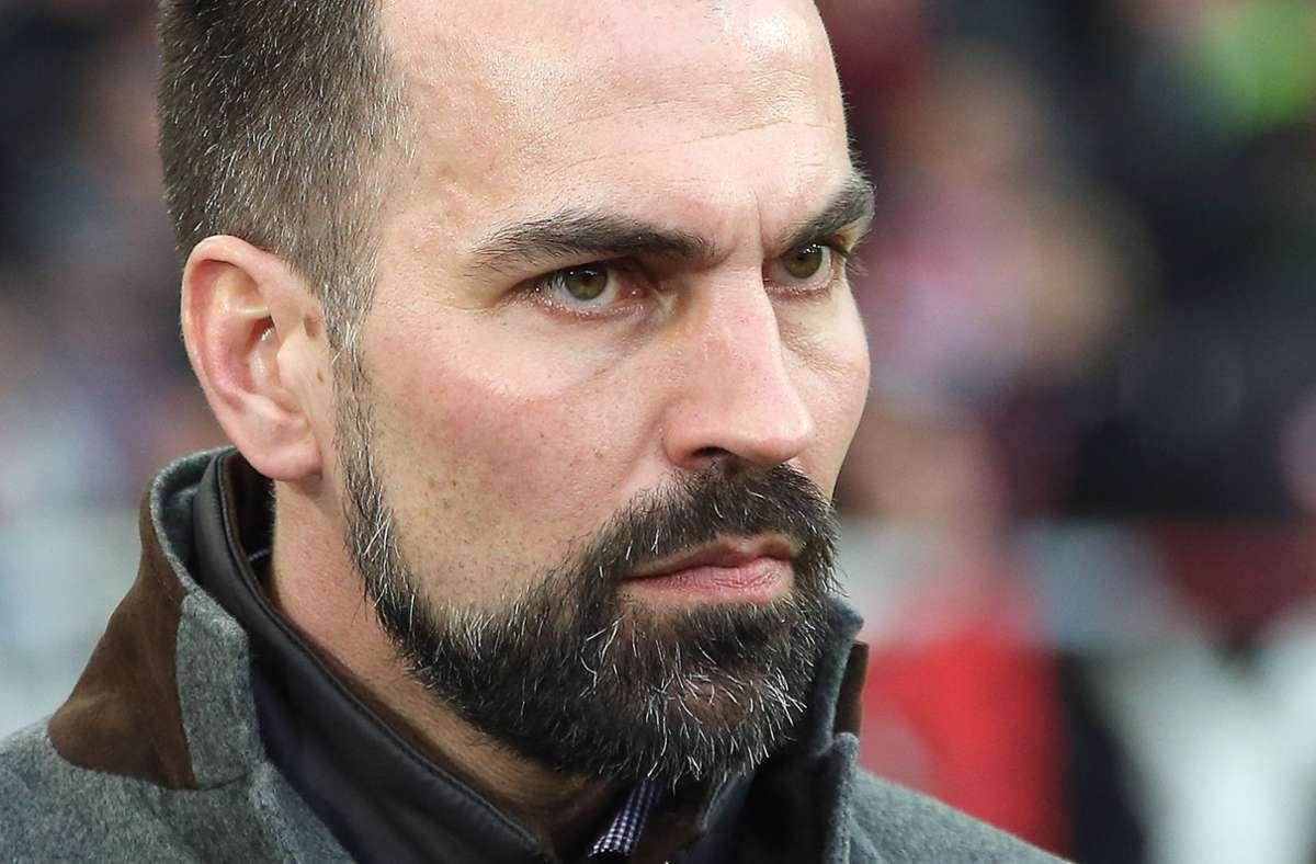 Die Zusammenstellung frühere VfB-Trainer Markus Babbel Foto: Pressefoto Baumann/Alexander Keppler