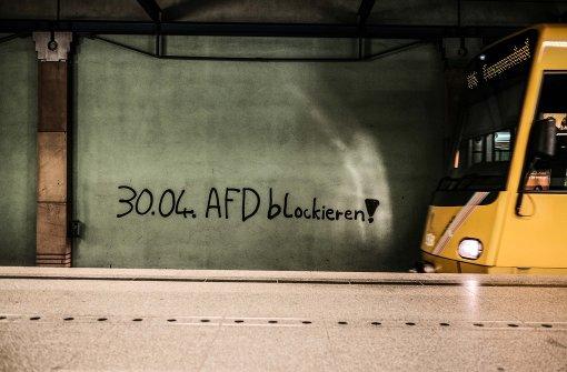 AfD-Gegendemonstranten scheitern vor Gericht
