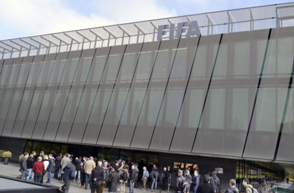 Das Fifa-Exekutivkomitee bestätigte am Dienstag in Zürich den Termin für die Wahl des neuen Präsidenten. Foto: dpa