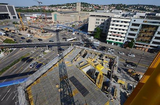 Das CityGate am Hauptbahnhof im Juli