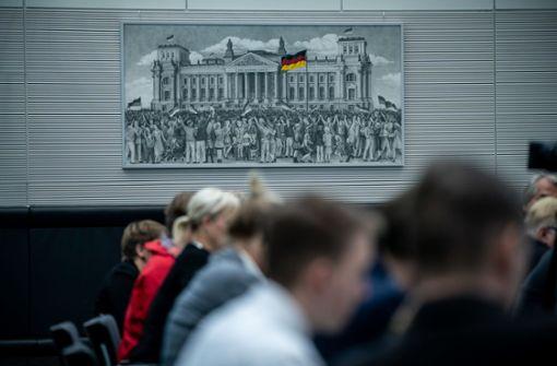 Bismarck und Paulskirche, aber kein Grundgesetz