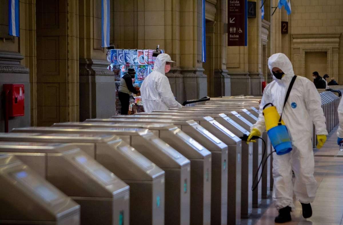 Die Corona-Pandemie nimmt weltweit gesehen immer mehr Fahrt auf. Foto: imago images/ZUMA Wire