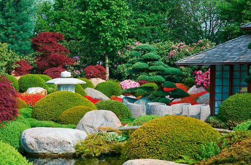 Schick gestaltete Gärten und Parks