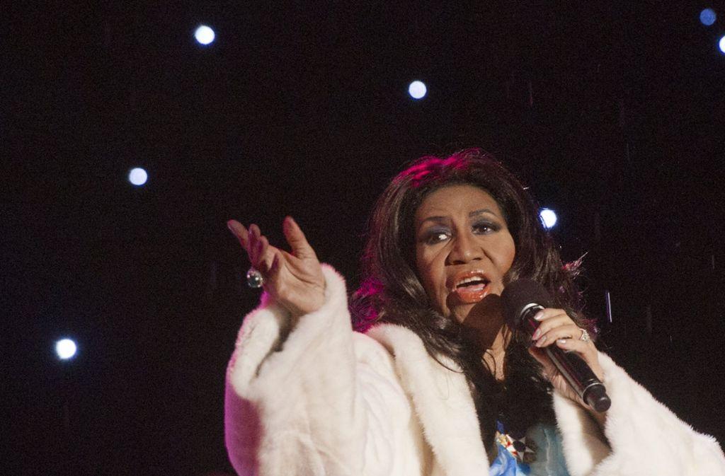 Aretha Franklin, die Königin des Soul ist tot. Ihre Lieder bleiben. Foto: AFP