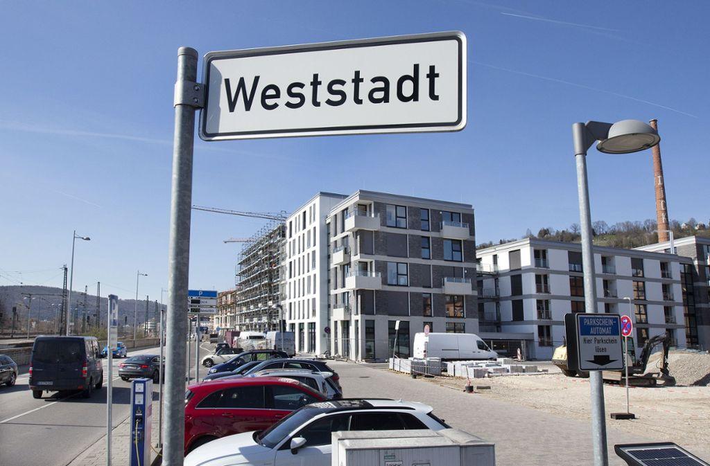 Die Neue Weststadt in Esslingen wird zum ökologischen Vorzeigeprojekt. Der Bund beteiligt sich mit 12,5 Millionen Euro. Foto: Horst Rudel