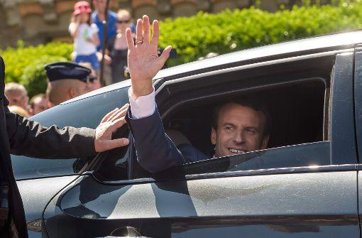 Bericht: Macron-Lager bei französischer Parlamentswahl vorne