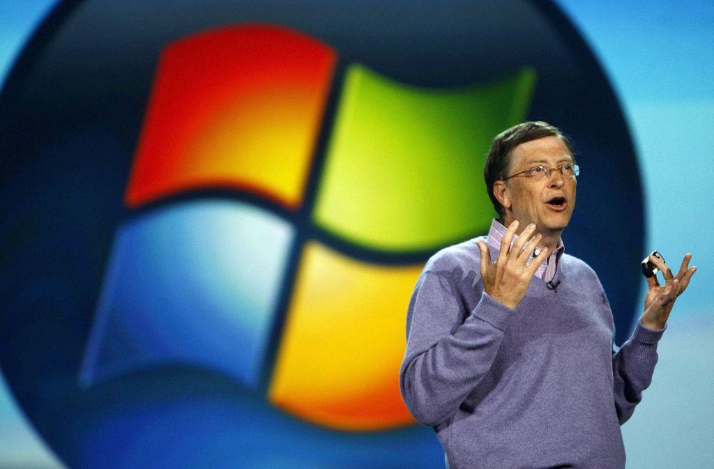Bill Gates, Mitbegründer von Microsoft. Foto: EPA